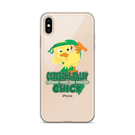 Cerebral Palsy Messed With The Wrong Chick iPhone Case The Awareness Expo Cerebral Palsy