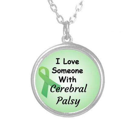 I Love Someone With Cerebral Palsy Necklace The Awareness Expo Cerebral Palsy