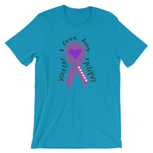 Someone I Love Has Epilepsy T-Shirt The Awareness Expo Epilepsy