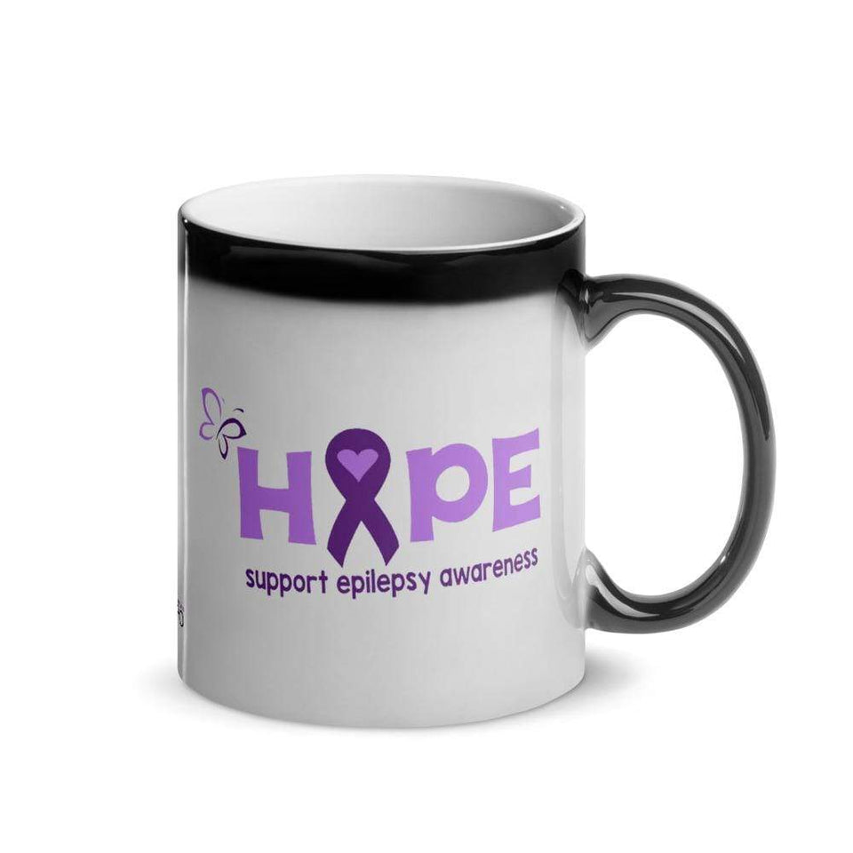 """Hope""  Epilepsy Glossy Magic Mug The Awareness Expo Epilepsy"