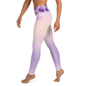 """Hope"" Purple Epilepsy Leggings The Awareness Expo Epilepsy"