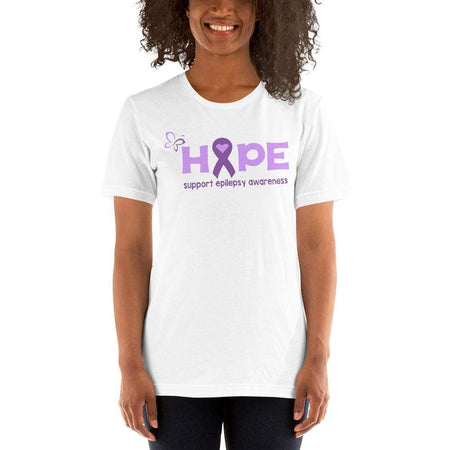 Hope Support Epilepsy Awareness T-Shirt The Awareness Expo Epilepsy