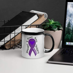 """Someone I Love Has Epilepsy"" Glossy Magic Mug The Awareness Expo Epilepsy"