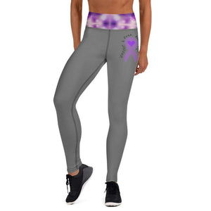 """Someone I Love Has Epilepsy"" Grey Epilepsy Leggings The Awareness Expo Epilepsy"