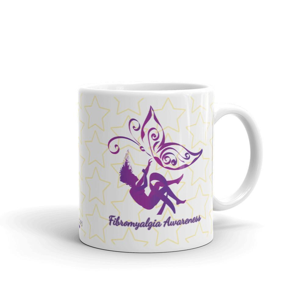 Butterfly Fibromyalgia Awareness Mug The Awareness Expo Fibromyalgia