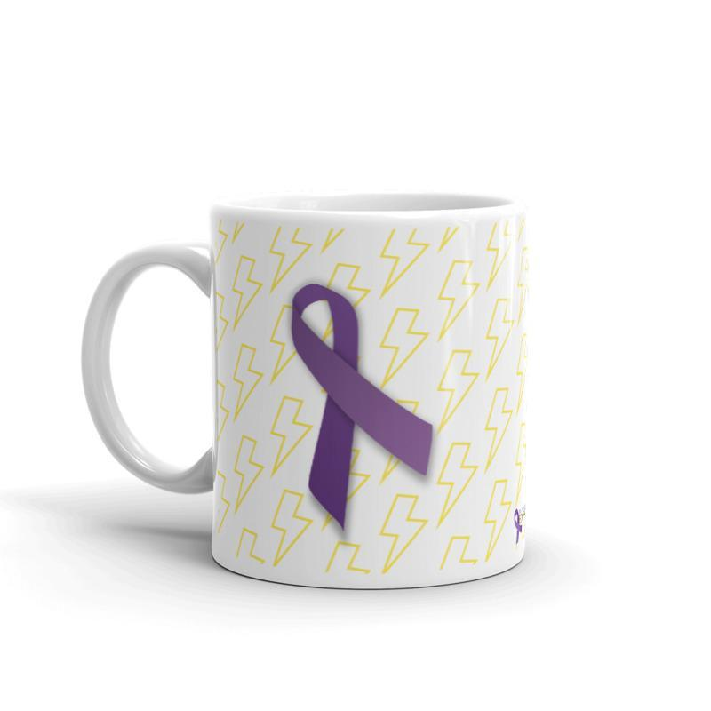 """Always Running On Empty"" Fibromyalgia Awareness Mug The Awareness Expo Fibromyalgia"