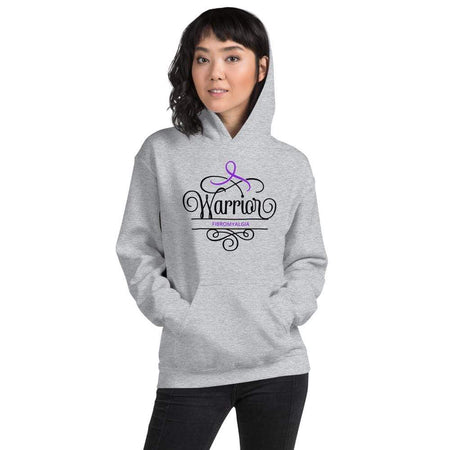 Fibromyalgia Awareness Warrior Hoodie The Awareness Expo Fibromyalgia