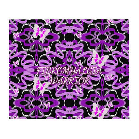 Fibromyalgia Warrior Throw Blanket The Awareness Expo Fibromyalgia