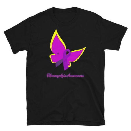 Purple Ribbon Fibromyalgia Awareness T-Shirt The Awareness Expo Fibromyalgia