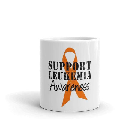 Support Leukemia Awareness Coffee Mug The Awareness Expo Leukemia
