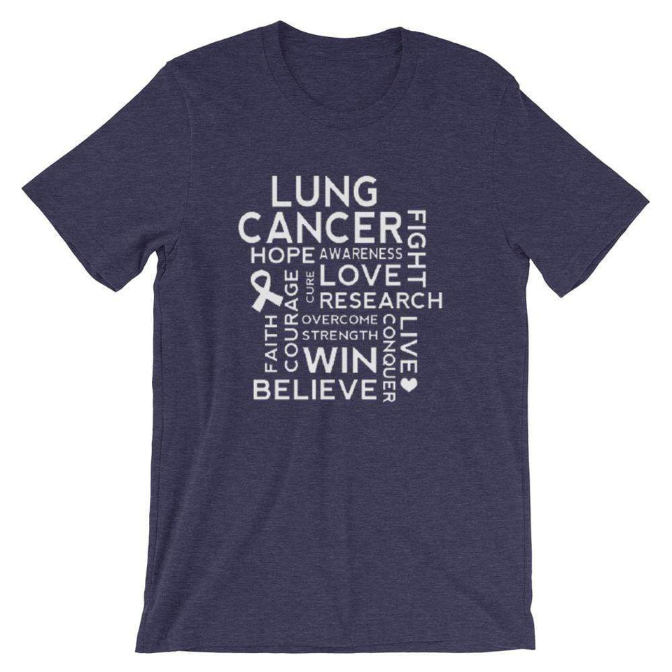 Lung Cancer Awareness Unisex T-Shirt The Awareness Expo Lung Cancer