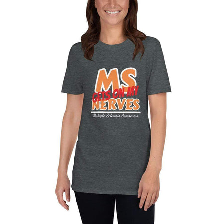 """M.S. Gets On My Nerves!"" T-Shirt The Awareness Expo Multiple Sclerosis"