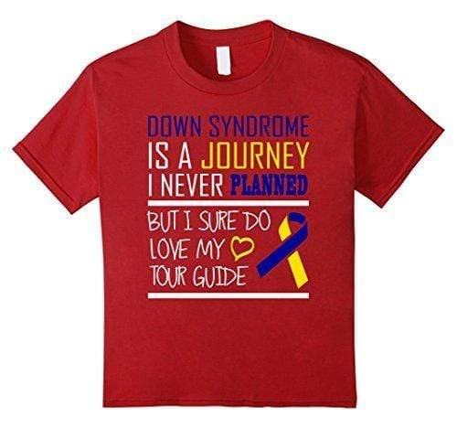 Down Syndrome is a Journey I Never Planned T-Shirt The Awareness Expo