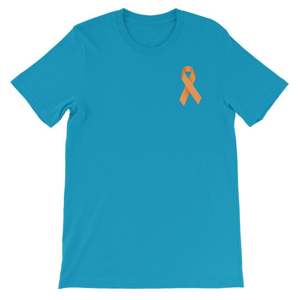 """I Wear Orange For My Mother"" M.S. Awareness T-Shirt The Awareness Expo Multiple Sclerosis"