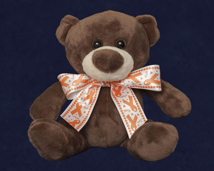 MS Awareness Orange Ribbon Teddy Bear The Awareness Expo Multiple Sclerosis