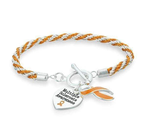 Multiple Sclerosis Heart Charm Bracelet The Awareness Expo Multiple Sclerosis