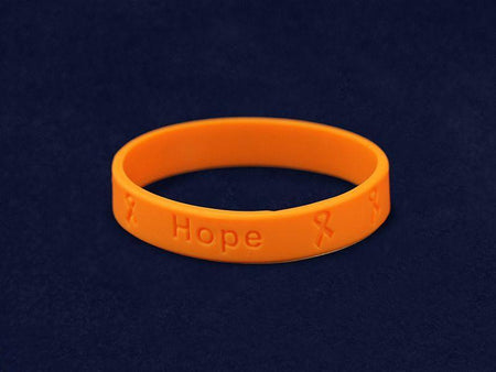 Orange Ribbon Multiple Sclerosis Wristbands The Awareness Expo Multiple Sclerosis