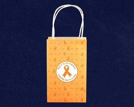We're In This Together Orange Ribbon Gift Bags The Awareness Expo Multiple Sclerosis