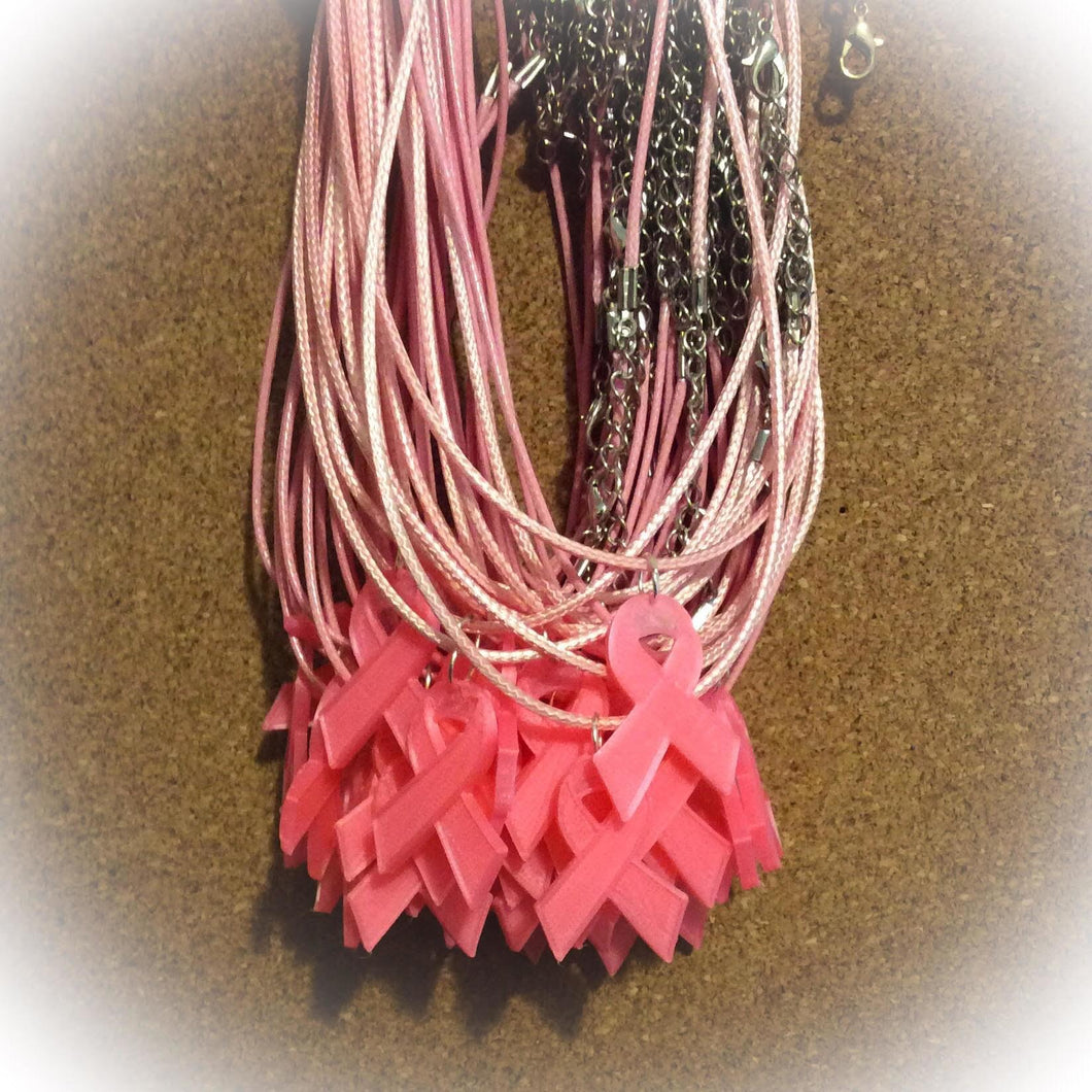 Pink Ribbon Necklaces The Awareness Expo