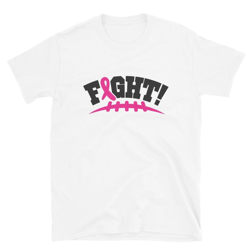 """Fight!"" Football Pink Ribbon T-Shirt The Awareness Expo"