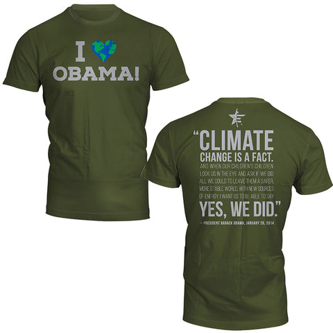 I Heart Obama S/S Ladies Tee