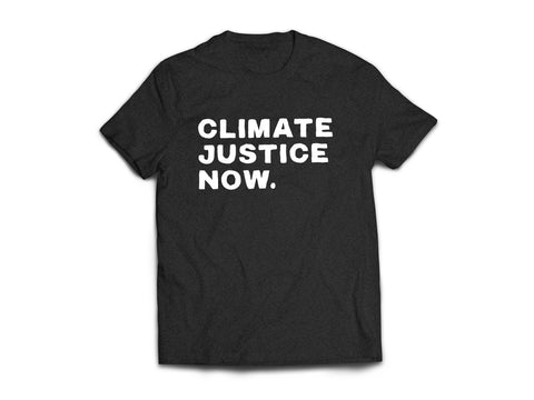 Climate Justice NOW Tee