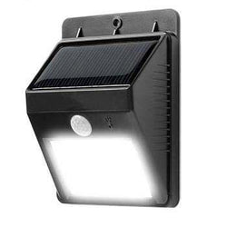 2 X Solar Powered Outdoor Motion Sensor LED Light