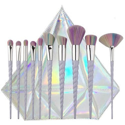 Unicorn Essentials Brush Set - 10 pcs