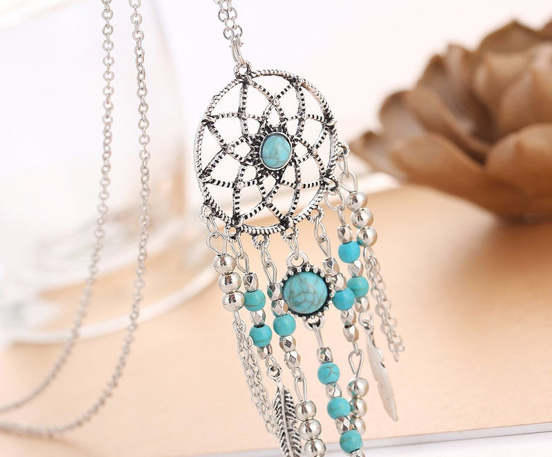 Dreamcatcher Pendant Necklace - FREE SHIPPING