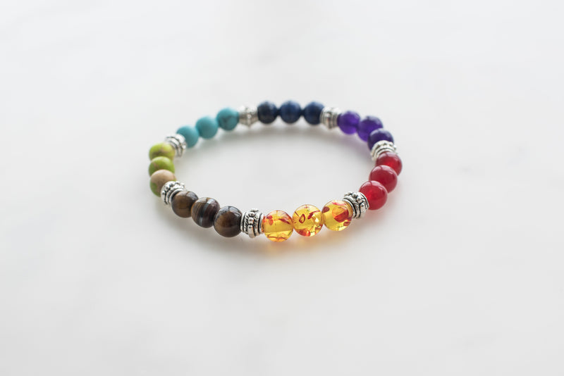 7 Chakra Diffuser Bracelet - FREE SHIPPING