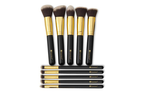 BH Cosmetics Sculpt and Blend - 10 Piece Brush Set - Glamorous Beauty