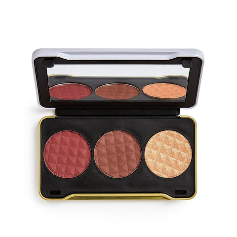 Makeup Revolution X Patricia Bright Dusk Till  Dawn Face Palette - Glamorous Beauty