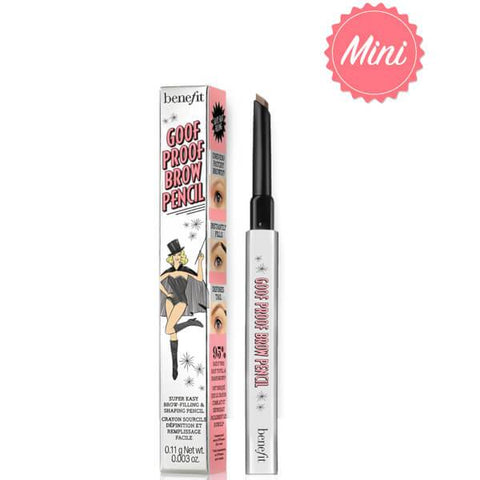 Benefit Goof Proof Brow Pencil Mini - Shade 4 - Glamorous Beauty