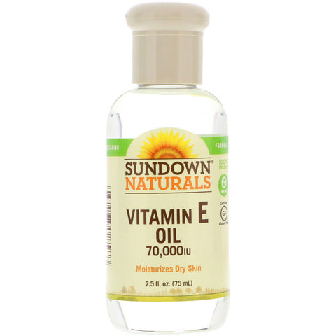 Sundown® Naturals Vitamin E Oil 70,000 IU - Glamorous Beauty