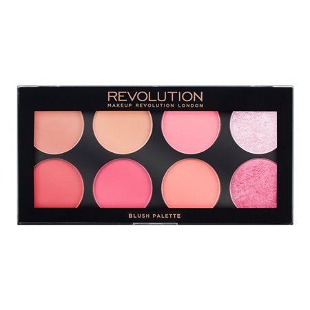 Makeup Revolution Ultra Blush Palette - Sugar and Spice - Glamorous Beauty