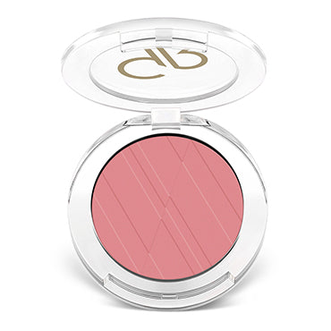 Golden Rose Powder Blush - 17 Desire Pink - Glamorous Beauty