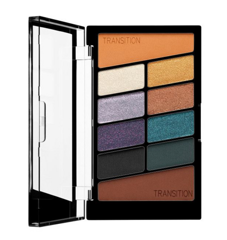 Wet N Wild Color Icon Eyeshadow 10 Pan Palette - Cosmic Collsion - Glamorous Beauty