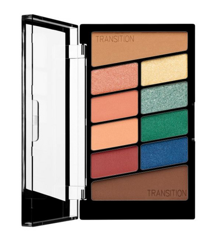 Wet N Wild Color Icon Eyeshadow 10 Pan Palette - Stop Playing Safe - Glamorous Beauty