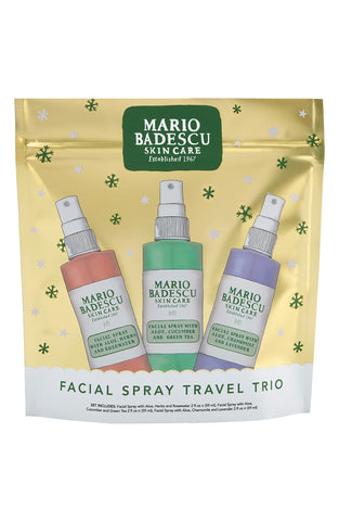 Mario Badescu Facial Spray Trio - (59mlx3) - Glamorous Beauty