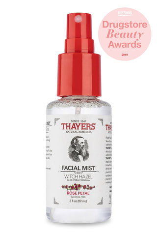 Thayers Alcohol-Free Rose Petal Witch Hazel Toner - Trial Size 89ml