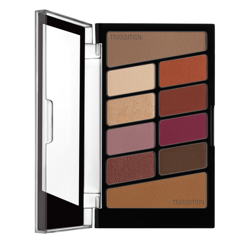 Wet N Wild Color Icon Eyeshadow 10 Pan Palette - Rosé In The Air - Glamorous Beauty