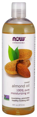 Now Foods Solutions Sweet Almond Oil - 473 ml - Glamorous Beauty