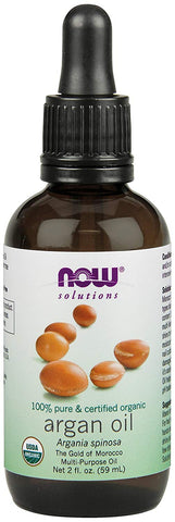 Now Foods Organic Argan Oil - 59 ml - Glamorous Beauty