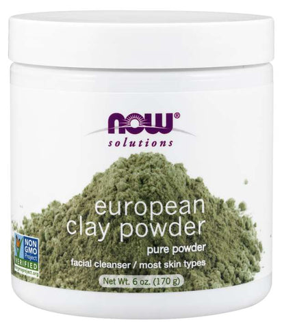 Now Foods European Clay Powder - Glamorous Beauty