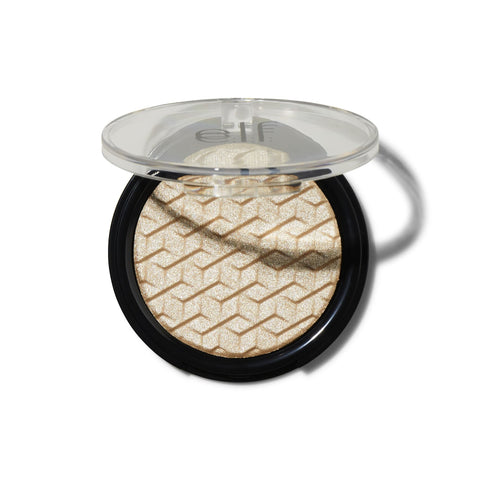 elf metallic flare highlighter - white gold - Glamorous Beauty