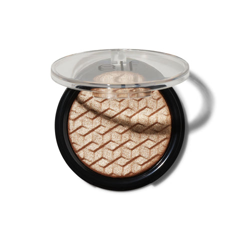 elf metallic flare highlighter - 24K gold - Glamorous Beauty