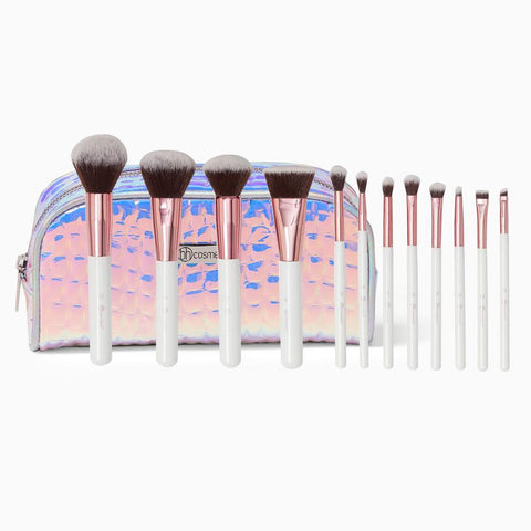 BH Cosmetics Crystal Quartz - 12 Piece Brush Set - Glamorous Beauty