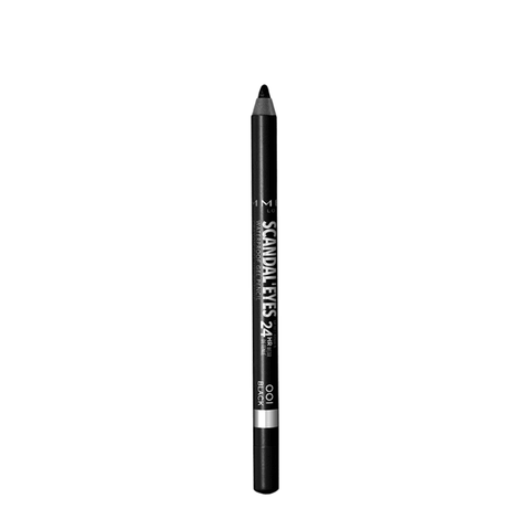 Rimmel London Scandal Eyes Waterproof Eyeliner - Black - Glamorous Beauty