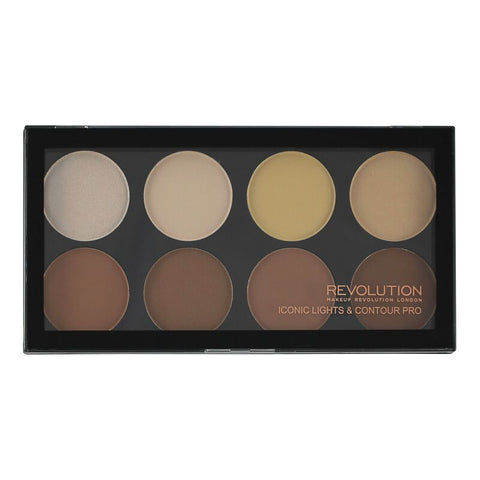 Makeup Revolution Iconic Lights and Contour Pro - Glamorous Beauty