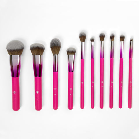 BH Cosmetics Midnight Festival Brush Set